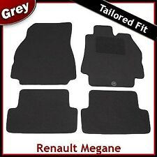 Renault Megane Tailored Carpet Car Mats GREY (2002 2003 ... 2005 2006 2007 2008)