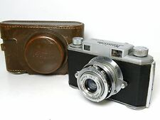 Konica Konishiroku Rangefinder camera 35mm film Hexar 1:3,5 50mm lens vintage