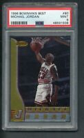 1996 BOWMANS BEST MICHAEL JORDAN #80 PSA 9 MINT!! CHICAGO BULLS!  MVP!!