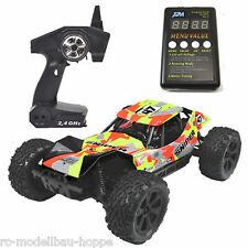 T2M Pirate SNIPER Brushless 1-10 Buggy 2,4 GHz gelb T4923B + Programierkarte