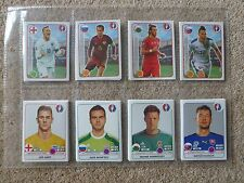 ALL 630 x DIFFERENT PLAYER NUMBERS -MINT CONDITION STICKERS - PANINI EURO 2016-d