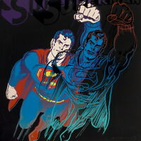 Andy Warhol Superman Giclee Canvas Print Paintings Poster Reproduction Copy