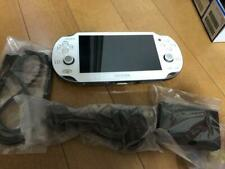 Used PS Playstation vita 3G/Wi-FiPCH-1100 Limited Crystal White Japan Cable PSvi
