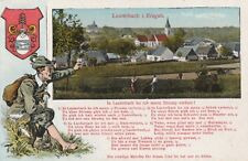 Lauterbach i. Erzgebirge Lied In Lauterbach ho ich menn Strump verloren antik