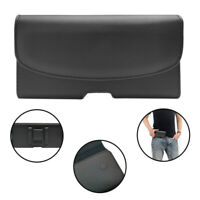 Leather Belt Clip Pouch Holder Case Cover Horizontal Flip For SAMSUNG GALAXY