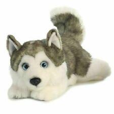 "urora MiYoni 11"" Husky Lying Plush Soft Toy (26263)"