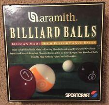 Genuine Belgian Aramith High Performance Pool/Billiard Ball Set