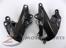 2009-2012 Ninja ZX6R ZX-6R Side Mid Cover Panel Trim Cowling 100% Carbon Fiber