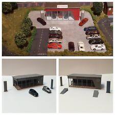 DAPR - N Gauge Model Railway Scenery Building Kit - Car Dealership/Showroom