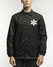 NIKE AIR JORDAN PINNACLE 6 SECURITY COACHES JACKET MEDIUM [835951 010] Black