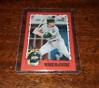 MARK McGWIRE 2020 TOPPS #TBT THROWBACK THURSDAY PRINT RUN ONLY #/666 #72 A'S