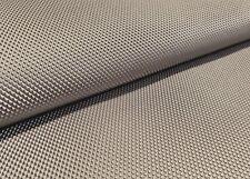 PVC Polster- Möbel- Deko Stoff 3D Metall Optik Glänzend Taupe FABLED Meterware