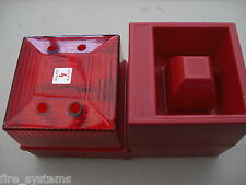 EMS 53-5310/R Radio Fire Alarm Sounder + Red Strobe £150 + vat