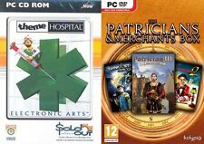 Theme HOSPITAL & patricians & COMMERCIANTI PATRICIAN III THE GREAT ART RACE DARK STAR 1