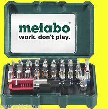 METABO Bit Set 32 tlg   Bitset Box Sortiment Zubehör Bits