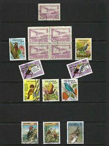 BIRDS OF COLOMBIA.- CONDOR.-PICULUS.-JACANA.- CARPINTERO.-OROAETU,  AND MORE