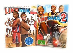 Like Mike & Like Mike 2 DVD Region 4 Free Postage