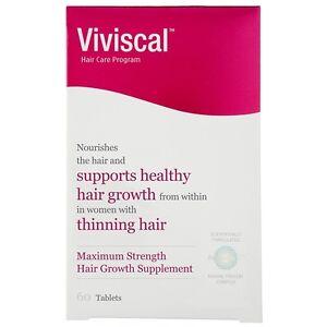 Viviscal Hair Growth Program Maximum Strength Supplement for Women 60