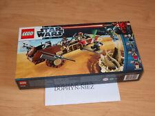LEGO 9496 STAR WARS DESERT SKIFF 4 fig LANDO KITHABA NEUF NEW never OPEN Scellé