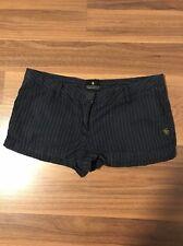 Women's MAISON SCOTCH Navy Striped Shorts Sz Not Provided
