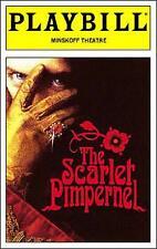 The Scarlet Pimpernel Playbill Douglas Sills Terrence Mann Sutton Foster 1997