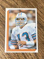 Vintage NFL 1986 Topps Sticker #219 DAN MARINO Dolphins🐬Pitt QB HOF RARE NMt/Mt