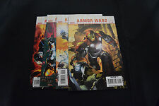 Ultimate Armor Wars Comic Lot Set Books 1 2 3 4 VF NM Iron Man Warren Ellis