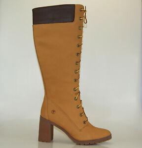 Timberland Allington 14 Inch Boots Kniehoch Reißverschluss Damen Stiefel A1KBT