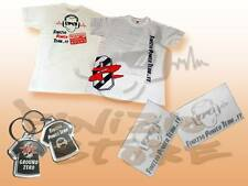 Gadget Pack HITECH Finizio Power Team Ground Zero T-Shirt S Portachavi Adesivi