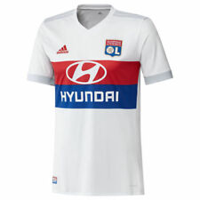 Maillots de football de clubs français olympiques lyonnais taille L pour homme