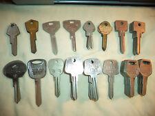 68 NOS Key Blanks-Chrysler-Mercedes-Harley-Audi-Jag-Saab-Locksmith Variety