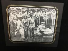 WWII print/photo THE JAPANESE SURRENDER 2 September 1945 U.S.S Missouri