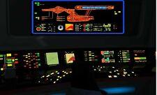 StAr TrEk prop TOS Enterprise ship Master lcars translight print EXCELLENT