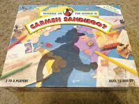 1992 Where In The WORLD Is Carmen Sandiego? Board Game