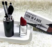Mac makeup brush set+Lipstick style bucket
