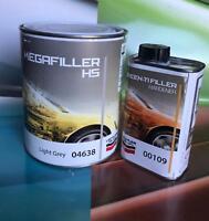 FONDO ACRILICO 5:1 MEGAFILLER HS 04 638 LT 1 + CATALIZZATORE 200 ml Lechler