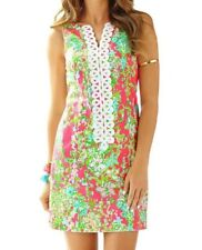 Lilly Pulitzer Womens Southern Charm Cathy Shift Flamingo Pink Dress Size 4