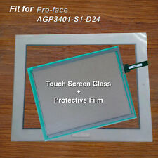 New for Pro-face AGP3401-S1-D24 Touch Screen Glass + Protective Film