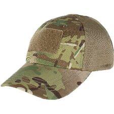 Condor Mesh Tactical MULTICAM Cap w/ Hook & Loop Strap & 3 Panel Baseball Hat