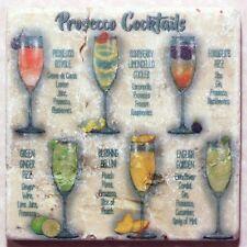 PROSECCO Cocktails Caído Mármol Posavasos (og)