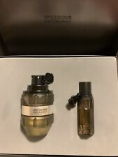 Viktor & Rolf SPICEBOMB Fresh Gift Set 3 oz Eau De Toilette Spray + .68 oz