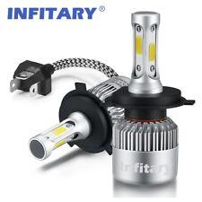 2 x HB2 H4 /9003 72W 8000LM Car Auto LED Headlights Hi/Lo Beam Bulbs 6500K White