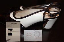 Vintage Ferragamo Slingback Spectator Shoes Sz 6 1/2 from 1979