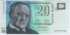 More details for 1997 finland 20 markkaa note | bank notes | pennies2pounds