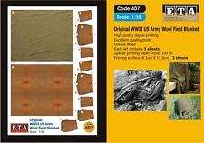 Original WW II US Army Wool Field Blanket Suit scales 1/35