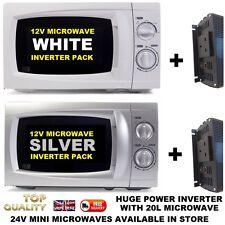 Microwave 12v 12 Volt 1500w Smart inverter Campervan Motorhome SELF BUILD CAMPER