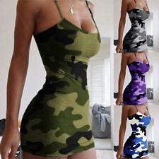 Women Spaghetti Strap Bodycon Mini Dress Sexy Party Club Wear Dresses