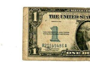 "$1 ""SHIFTED ERROR""(FUNNYBACK) ""SHIFTED PRINT ERROR"" 1934  MAJOR SHIFT ERROR!"