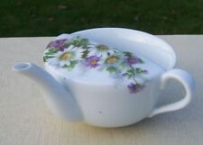 Pretty Floral Camomile Vintage Invalid Feeding Cup / Infant Feeder / Pap Boat