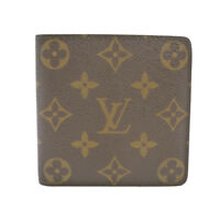 Auth LOUIS VUITTON Portefeuille Marco Old Type Bifold Monogram M61675 #S212033